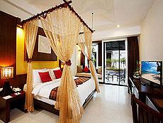 プーケット ファミリー&グループのホテル : アクセス リゾート & ヴィラ(1)のお部屋「プールアクセス デラックス シングル(ブルーウィング)」