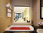 プーケット ファミリー&グループのホテル : アクセス リゾート & ヴィラ(Access Resort & Villas)のデラックス ファミリー シングル(グリーン ウィング)ルームの設備 Bath Room