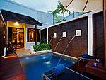 プーケット スパ併設のホテル : アクセス リゾート & ヴィラ(Access Resort & Villas)のプール スイート ツイン(ブルーウィング)ルームの設備 Private Pool
