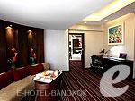 バンコク スクンビットのホテル : アンバサダー ホテル バンコク(The Ambassador Hotel Bangkok)のプライビレッジ スイート(タワーウィング)ルームの設備 Living Room