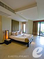 プーケット インターネット接続(無料)のホテル : ザ アスパシア プーケット(The Aspasia Phuket)のデラックスガーデンシービュールームの設備 Bedroom
