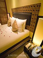 プーケット カタビーチのホテル : ザ アスパシア プーケット(The Aspasia Phuket)の1ベッドルーム ガーデン スイートルームの設備 Bedroom
