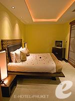 プーケット インターネット接続(無料)のホテル : ザ アスパシア プーケット(The Aspasia Phuket)の1ベッドルーム ガーデン スイートルームの設備 Bedroom