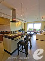 プーケット インターネット接続(無料)のホテル : ザ アスパシア プーケット(The Aspasia Phuket)の1ベッドルーム ガーデン スイートルームの設備 Dining Kitchen