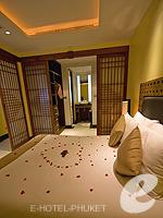 プーケット インターネット接続(無料)のホテル : ザ アスパシア プーケット(The Aspasia Phuket)の1ベッドルームシービュースイートルームの設備 Bedroom