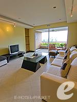 プーケット カタビーチのホテル : ザ アスパシア プーケット(The Aspasia Phuket)の1ベッドルームシービュースイートルームの設備 Living Room