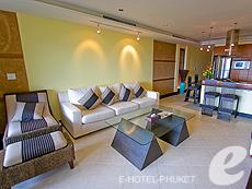 プーケット カタビーチのホテル : ザ アスパシア プーケット(1)のお部屋「1ベッドルームシービュースイート」