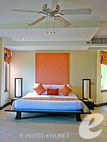 プーケット インターネット接続(無料)のホテル : ザ アスパシア プーケット(The Aspasia Phuket)の1ベッドルーム グランド ガーデン スイートルームの設備 Bedroom