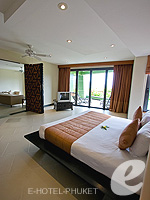 プーケット 5,000~10,000円のホテル : ザ アスパシア プーケット(The Aspasia Phuket)の1ベッドルーム グランド ガーデン スイートルームの設備 Bedroom