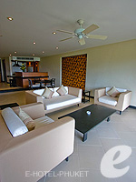 プーケット インターネット接続(無料)のホテル : ザ アスパシア プーケット(The Aspasia Phuket)の1ベッドルーム グランド ガーデン スイートルームの設備 Living Room