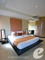プーケット カタビーチのホテル : ザ アスパシア プーケット(The Aspasia Phuket)の1ベッドルームグランドシービュースイートルームの設備 Bed Room
