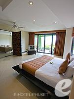 プーケット インターネット接続(無料)のホテル : ザ アスパシア プーケット(The Aspasia Phuket)の1ベッドルームグランドシービュースイートルームの設備 Bed Room
