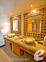 プーケット インターネット接続(無料)のホテル : ザ アスパシア プーケット(The Aspasia Phuket)の1ベッドルームグランドシービュースイートルームの設備 Bath Room