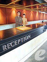 Reception : The Bayview Pattaya, South Pattaya, Phuket
