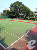 Tennis Court : The Bayview Pattaya, South Pattaya, Phuket