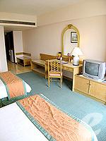 パタヤ サウスパタヤのホテル : ザ ベイビュー パタヤ(The Bayview Pattaya)のデラックス ガーデン ビュー(シングル)ルームの設備 Bedroom