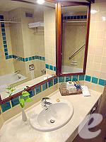 パタヤ サウスパタヤのホテル : ザ ベイビュー パタヤ(The Bayview Pattaya)のデラックス ガーデン ビュー(シングル)ルームの設備 Bath Room