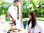 Breakfast in VillaThe Bell Pool Villa Resort Phuket