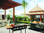 BBQ in Villa : The Bell Pool Villa Resort Phuket, Serviced Villa, Phuket