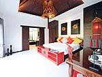 プーケット ヴィラコテージのホテル : ザ ベル プール ヴィラ リゾート プーケット(The Bell Pool Villa Resort Phuket)のハネムーン プライベート プールヴィラ 1ベッドルームルームの設備 Bedroom