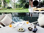 プーケット ヴィラコテージのホテル : ザ ベル プール ヴィラ リゾート プーケット(The Bell Pool Villa Resort Phuket)のハネムーン プライベート プールヴィラ 1ベッドルームルームの設備 Terrace
