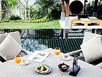 プーケット ヴィラコテージのホテル : ザ ベル プール ヴィラ リゾート プーケット(The Bell Pool Villa Resort Phuket)のラグジュアリー プライベート プールヴィラ 2ベッドルームルームの設備 Terrace