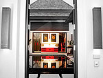 プーケット ヴィラコテージのホテル : ザ ベル プール ヴィラ リゾート プーケット(The Bell Pool Villa Resort Phuket)のラグジュアリー プライベート プールヴィラ 2ベッドルームルームの設備 Entarance