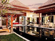 プーケット ヴィラコテージのホテル : ザ ベル プール ヴィラ リゾート プーケット(1)のお部屋「ラグジュアリー プライベート プールヴィラ 2ベッドルーム」