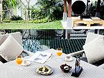 プーケット ヴィラコテージのホテル : ザ ベル プール ヴィラ リゾート プーケット(The Bell Pool Villa Resort Phuket)のラグジュアリー プライベート プールヴィラ 3ベッドルームルームの設備 Terrace