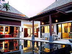 プーケット ヴィラコテージのホテル : ザ ベル プール ヴィラ リゾート プーケット(1)のお部屋「ラグジュアリー プライベート プールヴィラ 3ベッドルーム」