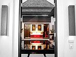 プーケット ヴィラコテージのホテル : ザ ベル プール ヴィラ リゾート プーケット(The Bell Pool Villa Resort Phuket)のプレジデンシャル プールヴィラ 4ベッドルームルームの設備 Entance
