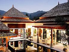 プーケット ヴィラコテージのホテル : ザ ベル プール ヴィラ リゾート プーケット(1)のお部屋「プレジデンシャル プールヴィラ 4ベッドルーム」
