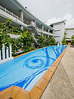 Swimming Pool : The Bliss South Beach Patong, Patong Beach, Phuket