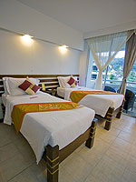 プーケット 5,000~10,000円のホテル : ザ ブリス サウス ビーチ パトン(The Bliss South Beach Patong)のスーペリアルームの設備 Bedroom