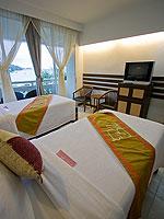 プーケット プールアクセスのホテル : ザ ブリス サウス ビーチ パトン(The Bliss South Beach Patong)のスーペリアルームの設備 Bedroom