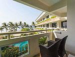 プーケット プールアクセスのホテル : ザ ブリス サウス ビーチ パトン(The Bliss South Beach Patong)のデラックス シービュールームの設備 Balcony