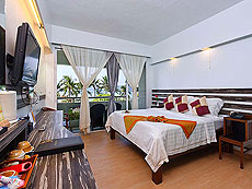 プーケット プールアクセスのホテル : ザ ブリス サウス ビーチ パトン(1)のお部屋「デラックス シービュー」