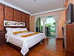 プーケット 5,000~10,000円のホテル : ザ ブリス サウス ビーチ パトン(The Bliss South Beach Patong)のスーペリア スイートルームの設備 Bedroom