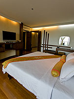 プーケット パトンビーチのホテル : ザ ブリス サウス ビーチ パトン(The Bliss South Beach Patong)のデラックス スイートルームの設備 Bedroom