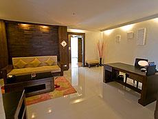 プーケット 5,000~10,000円のホテル : ザ ブリス サウス ビーチ パトン(1)のお部屋「デラックス スイート」