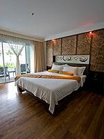 プーケット プールアクセスのホテル : ザ ブリス サウス ビーチ パトン(The Bliss South Beach Patong)のプール スイートルームの設備 Bedroom
