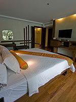 プーケット パトンビーチのホテル : ザ ブリス サウス ビーチ パトン(The Bliss South Beach Patong)のプール スイートルームの設備 Bedroom