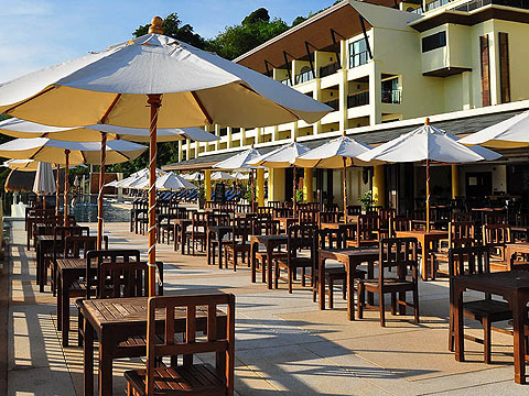 Restaurant : Centara The Blue Marine Resort & Spa, Pool Villa, Phuket
