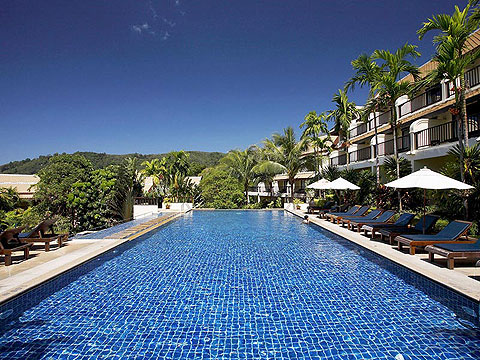 Swimming Pool : Centara The Blue Marine Resort & Spa, Patong Beach, Phuket