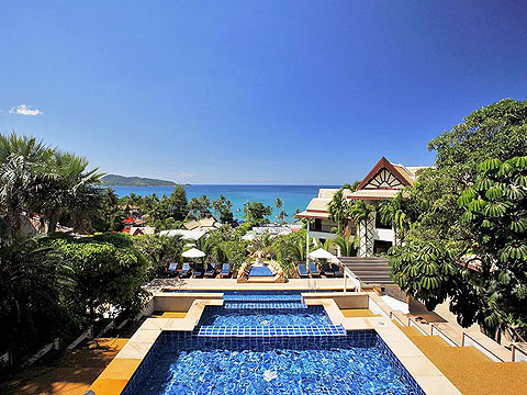 Swimming Pool / Centara The Blue Marine Resort & Spa, หาดป่าตอง
