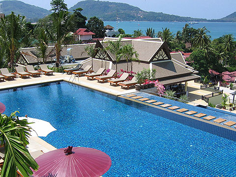 Swimming Pool : Centara The Blue Marine Resort & Spa, Pool Villa, Phuket