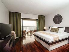 プーケット プールヴィラのホテル : ザ ブルー マリーン リゾート & スパ(1)のお部屋「デラックス オーシャン フェイシング」
