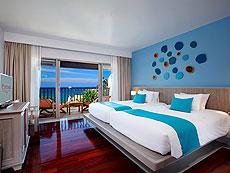 プーケット プールヴィラのホテル : ザ ブルー マリーン リゾート & スパ(1)のお部屋「プレミア デラックス オーシャン フェイシング」