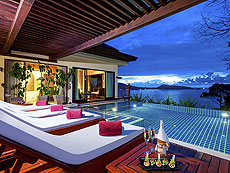 プーケット パトンビーチのホテル : ザ ブルー マリーン リゾート & スパ(1)のお部屋「デラックス 2ベッドルーム プール ヴィラ」