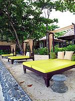 サムイ島 2ベッドルームのホテル : ザ ブリーザ ビーチ リゾート & スパ 「Massage Area」